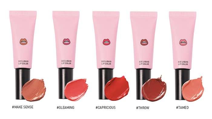 Bảng màu của dòng son kem 3CE Liquid Lip Color của thương hiệu 3CE luôn là một trong những sản phẩm cực kì được lòng các chị em phụ nữ